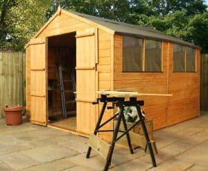 10' x 8' Windsor Shiplap Double Door 108 Shed