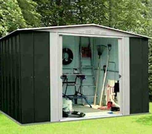 10' x 9' Shed Baron Grandale Ten Metal Shed