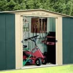 10 x 9 StoreMore Canberra Ten Apex Metal Shed
