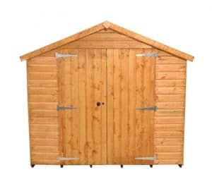 10'1 x 8'1 Shed-Plus Shiplap Workshop Shed Front View
