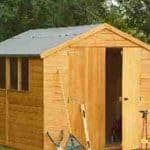 10'1 x 8'1 Shed-Plus Shiplap Workshop Shed Overall View