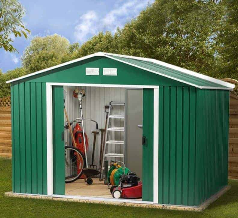 10'6 x 11'11 Store More Springdale Metal Shed