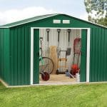 10'6 x 9'11 Store More Springdale Metal Shed