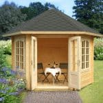 10'x10' Palmako Hanna 34mm Log Cabin
