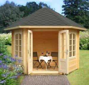 10'x10' Palmako Hanna 34mm Log Cabin