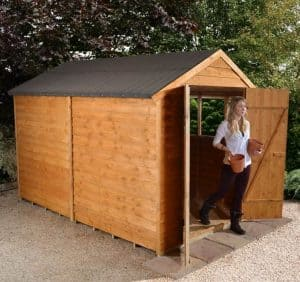 10x6 Shed-Plus Classic Overlap DD Shed 1