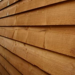 10x6 Waltons Overlap Pent Wooden Shed Cladding