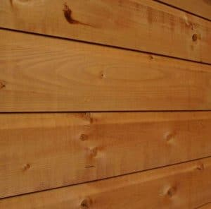 10x6 Waltons Tongue and Groove Pent Wooden Shed Cladding