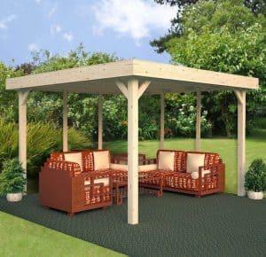 11' x 11' Palmako Lucy Garden Shelter