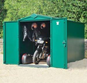 11 x 5 Asgard Motorcycle Secure Storage Garage Plus