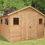 12' x 10' Windsor Groundsman Workshop Shed