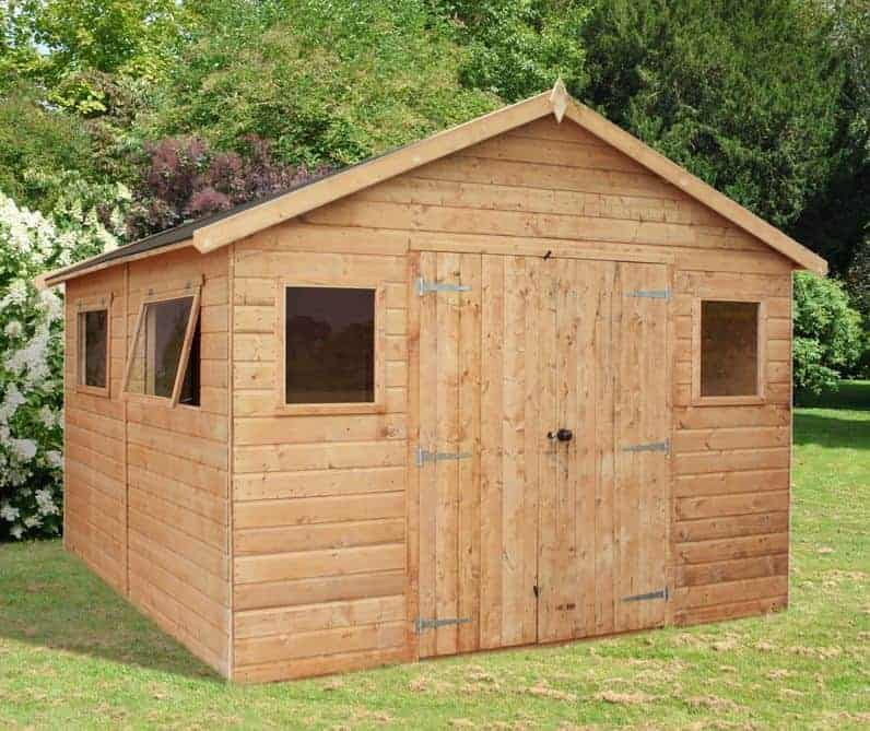 12' x 10' Windsor Groundsman Workshop Shed