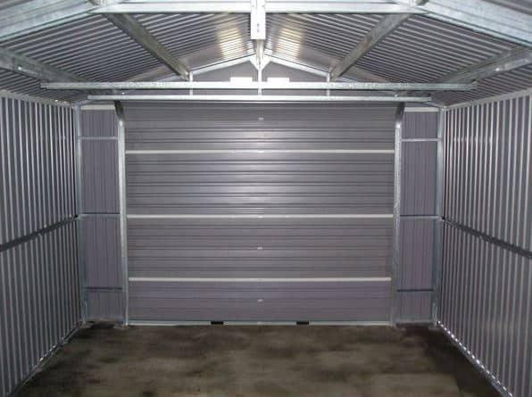 12 x 20 storemore emerald olympian apex metal garage what shed - Garage metal castorama ...