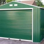 12 x 20 StoreMore Emerald Olympian Apex Metal Garage