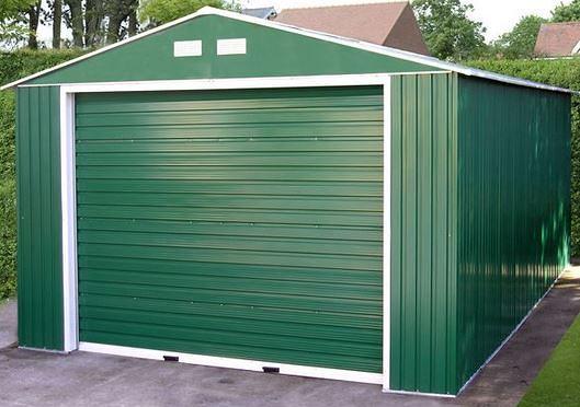 12 x 20 StoreMore Emerald Olympian Apex Metal Garage