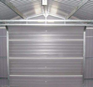 12' x 26' Store More Olympian Metal Garage Internal View