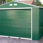 12 x 26 StoreMore Olympian Emerald Metal Garage