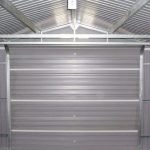 12' x 32' Store More Olympian Metal Garage Internal View