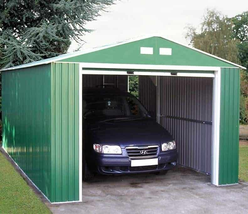 12' x 32' Store More Olympian Metal Garage