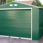 12 x 32 StoreMore Emerald Olympian Apex Metal Garage