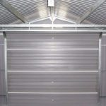 12' x 38' Store More Olympian Metal Garage Internal View