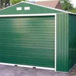 12 x 38 StoreMore Emerald Olympian Apex Metal Garage