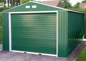 12 x 38 StoreMore Emerald Olympian Apex Metal Garage