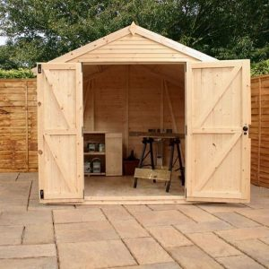 12 x 8 Mercia Ultimate Shed Front Open Door