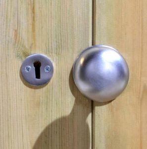 12' x 8' Shed-Plus Champion Heavy Duty Combination Double Door Shed Door Handle
