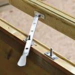 12' x 8' Shed-Plus Champion Heavy Duty Combination Single Door Shed Window Latch
