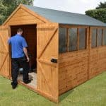 12' x 8' Shed-Plus Heavy Duty Shed Workshop