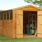12' x 8' Shed-Plus Overlap Workshop Shed