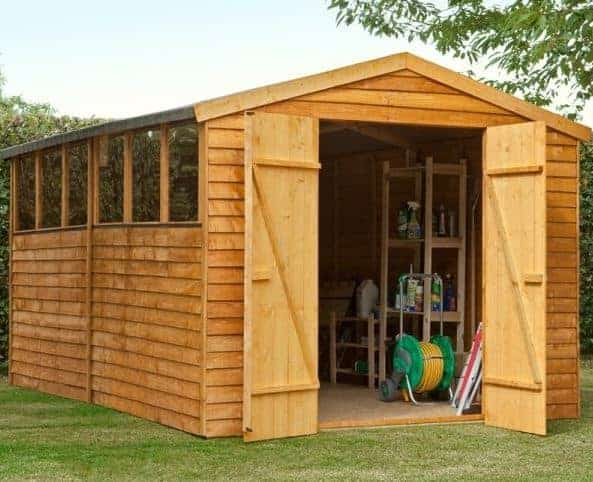 12 X 8 Shed Plus Overlap Workshop Shed What Shed