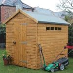 12' x 8' Traditional Apex Security Shed