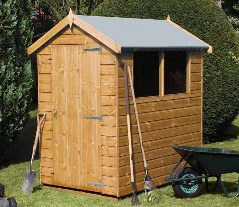 12' x 8' Traditional Standard Apex Shed