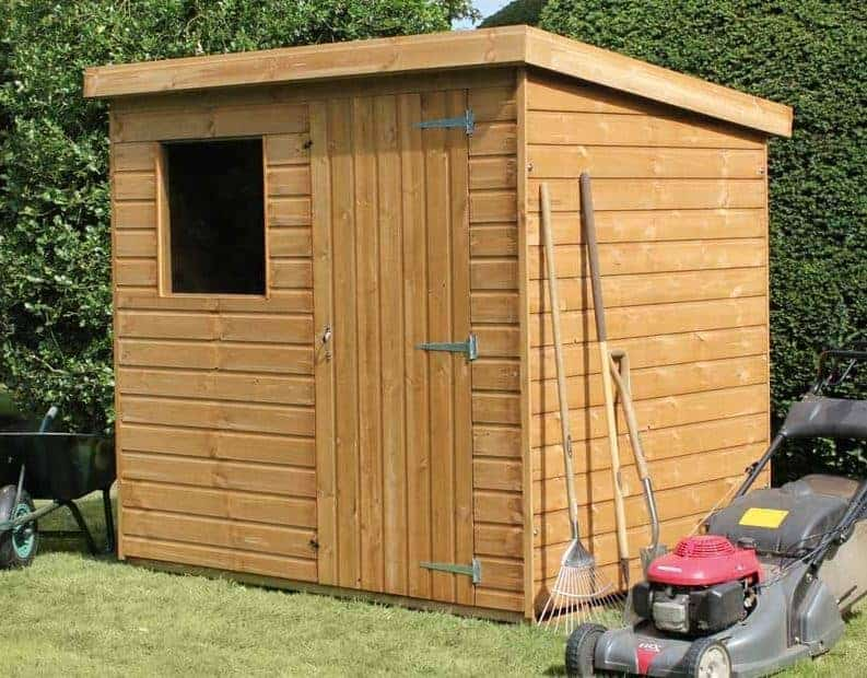 12' x 8' Traditional Standard Pent Shed