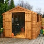12 x 8 Waltons Overlap Apex Wooden Shed