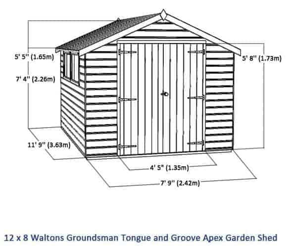 X Garden Office With Tri Fold Sliding Doors Cedarshed