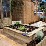 1200 x 900 x 300 Waltons Deluxe Raised Bed