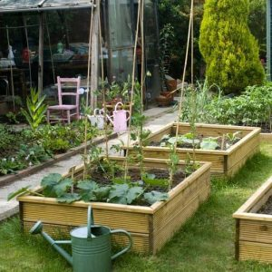 1200 x 900 x 600 Waltons Standard Wooden Raised Bed