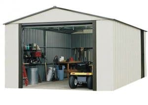 12'2 X 9'9 Arrow Murryhill VT1210 Metal Garage Open Door