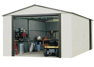 12'2 x 31' Arrow Murryhill VT1231 Metal Garage Overall