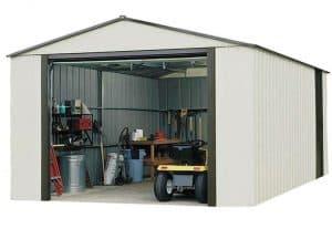 12'2 x 31' Arrow Murryhill VT1231 Metal Garage Overall