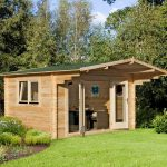 13' x 10' Berkshire Swallowfield 34mm Log Cabin