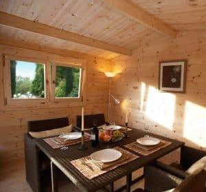 13' x 10' Berkshire Swallowfield 34mm Log Cabin Windows and Cladding