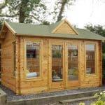 13'1 x 9'10 Berkshire Aldworth Log Cabin