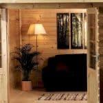 13'2 x 9'10 Alpine Colorado 28mm Log Cabin Flooring and Cladding