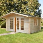 13' x 12' Palmako Florence 34mm Log Cabin