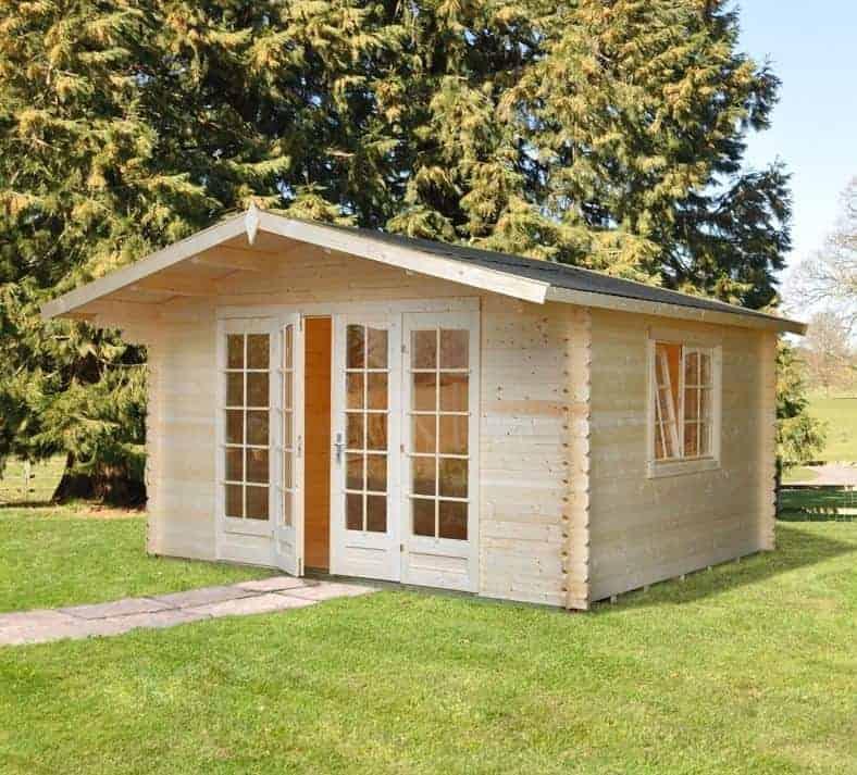 13' x 12' Palmako Florence 34mm Log Cabin