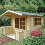14'9 x 10'6 GardenStyle Chinon Log Cabin
